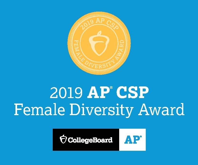 College Board's AP® Computer Science Female Diversity Award